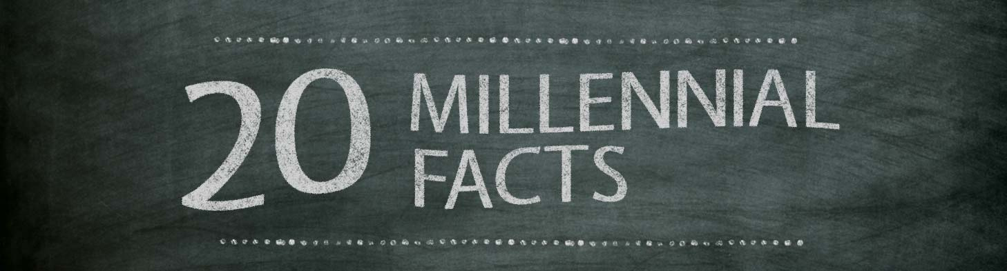 Knowledge Millennials 20 Facts Infographic