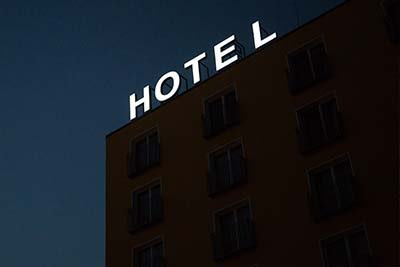 How to photograph a hotel check-list