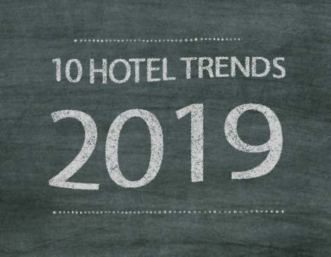 Knowledge Hotel Trends 2019 infographic