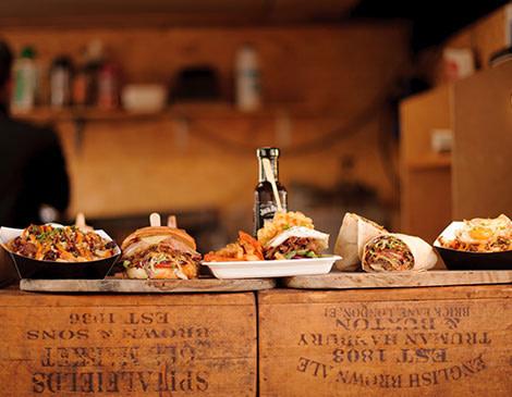 Restaurant Photography buffet
