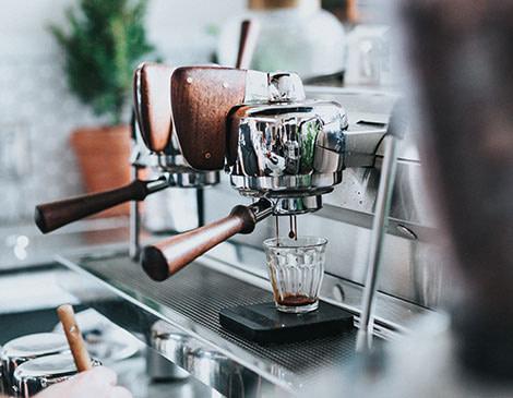 Restaurant Photography coffee machine