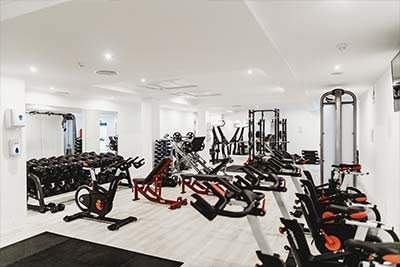 Check-list: How to photograph a hotel fitness